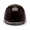 Box of 16 Pyramex Ridgeline 4-Point Glide Lock Bump Caps HP40015 Brown Back