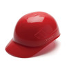 Box of 16 Pyramex Ridgeline 4-Point Glide Lock Bump Caps HP40020 Red Front Angled