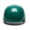 Box of 16 Pyramex Ridgeline 4-Point Glide Lock Bump Caps HP40035 Green Back