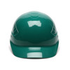 Box of 16 Pyramex Ridgeline 4-Point Glide Lock Bump Caps HP40035 Green Front