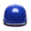 Box of 16 Pyramex Ridgeline 4-Point Glide Lock Bump Caps HP40060 Blue Back