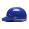Box of 16 Pyramex Ridgeline 4-Point Glide Lock Bump Caps HP40060 Blue Side Profile