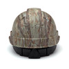 Box of 16 Pyramex Ridgeline Cap Style 4-Point Ratchet Hydro Dipped Hard Hats HP44119 Matte Camo Back
