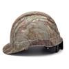 Box of 16 Pyramex Ridgeline Cap Style 4-Point Ratchet Hydro Dipped Hard Hats HP44119 Matte Camo Side Profile