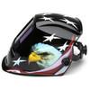 Pyramex Leadhead Auto-Darkening American Eagle Welding Helmet WHAM3030AE Profile