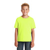 Jerzees Non-ANSI Hi Vis Safety Youth Dri-Power Cotton Poly T-Shirt 29B Safety Green