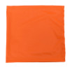 Case of 200 Radians Made in USA Hi Vis Orange Face Covering Neck Gaiter RAD-NGOBE-CASE Flat