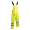 Occunomix FR Class E Hi Vis Yellow Rain Bib Pants LUX-TBIBFR Front