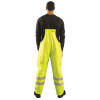 Occunomix FR Class E Hi Vis Yellow Rain Bib Pants LUX-TBIBFR  Back