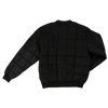 Tough Duck Quilted Black Bomber Jacket WJ01 Front