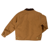 Tough Duck Premium Cotton Duck Quilted Lined Chore Jacket 2137 Brown Back