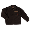 Tough Duck Premium Cotton Duck Quilted Lined Chore Jacket 2137 Dark Brown Front