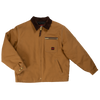 Tough Duck Premium Cotton Duck Quilted Lined Chore Jacket 2137 Brown Front