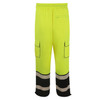 GSS Class E Hi Vis Lime Onyx Sweat Pants 8715 Back