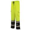 GSS Class E Hi Vis Lime Onyx Sweat Pants 8715 Left Side