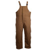 Union Line FR Brown Ultrasoft Duck Bib Overall with Quilted Liner 15079-67 Front