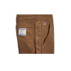 Union Line FR Brown Ultrasoft Duck Made in USA Bib Overall with Quilted Liner 15079-67 Pocket