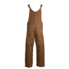 TECGEN FR Deluxe Lined Made in USA Bib Overall BIB6DQ2 Brown Back