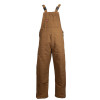 TECGEN FR Deluxe Lined Made in USA Bib Overall BIB6DQ2 Brown Front