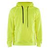 Blaklader Non-ANSI Hi Vis Hooded Sweatshirt 344925283300 Yellow Front