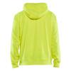 Blaklader Non-ANSI Hi Vis Hooded Sweatshirt 344925283300 Yellow Back