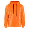 Blaklader Non-ANSI Hi Vis Hooded Sweatshirt 344925285300 Orange Front