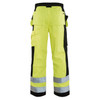 Blaklader Class E Hi Vis Work Pants 163318603399 Back