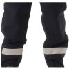 NASCO FR ASTM F1891 MP3 Arc Flash Fire Nomex Navy Made in USA Bib Trouser 3501TN Reflective