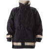 NASCO FR ASTM F1891 MP3 Arc Flash Fire Nomex Navy Rain Jacket 3503JN Jacket