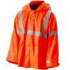NASCO FR Class 3 Hi Vis Sentinel Arc Flame Resistant Made in USA Rain Jacket 4503JF