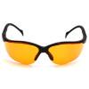 Pyramex Safety Glasses Orange Venture II - Box Of 12