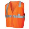 Pyramex Class 2 Hi Vis Orange Safety Vests RVZ2120 Front