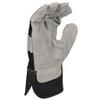 DeWALT Box of 12 Pair Premium Cowhide Leather Palm Work Gloves DPG41 Palm