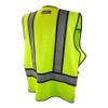 DeWALT Class 2 Hi Vis Lime Adjustable Breakaway Vest DSV421 Back