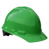Radians Box of 20 Made in USA Hard Hats with 6 Point Ratchet Suspension GHR6 green