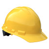 Radians Box of 20 Made in USA Hard Hats with 6 Point Ratchet Suspension GHR6 yellow