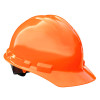 Radians Box of 20 Made in USA Hard Hats with 6 Point Ratchet Suspension GHR6 orange
