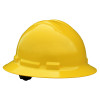 Radians 6 Point Ratchet Suspension Full Brim Hard Hats - 9 Colors - Box of  10  - QHR6