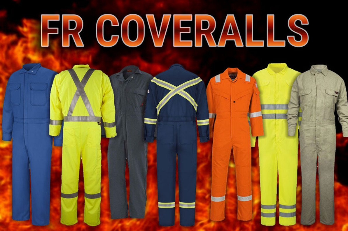 FR Coveralls - Flame Resistant Protection
