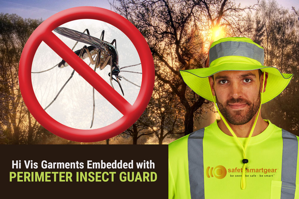 Clothing That Repels Insects While You Work