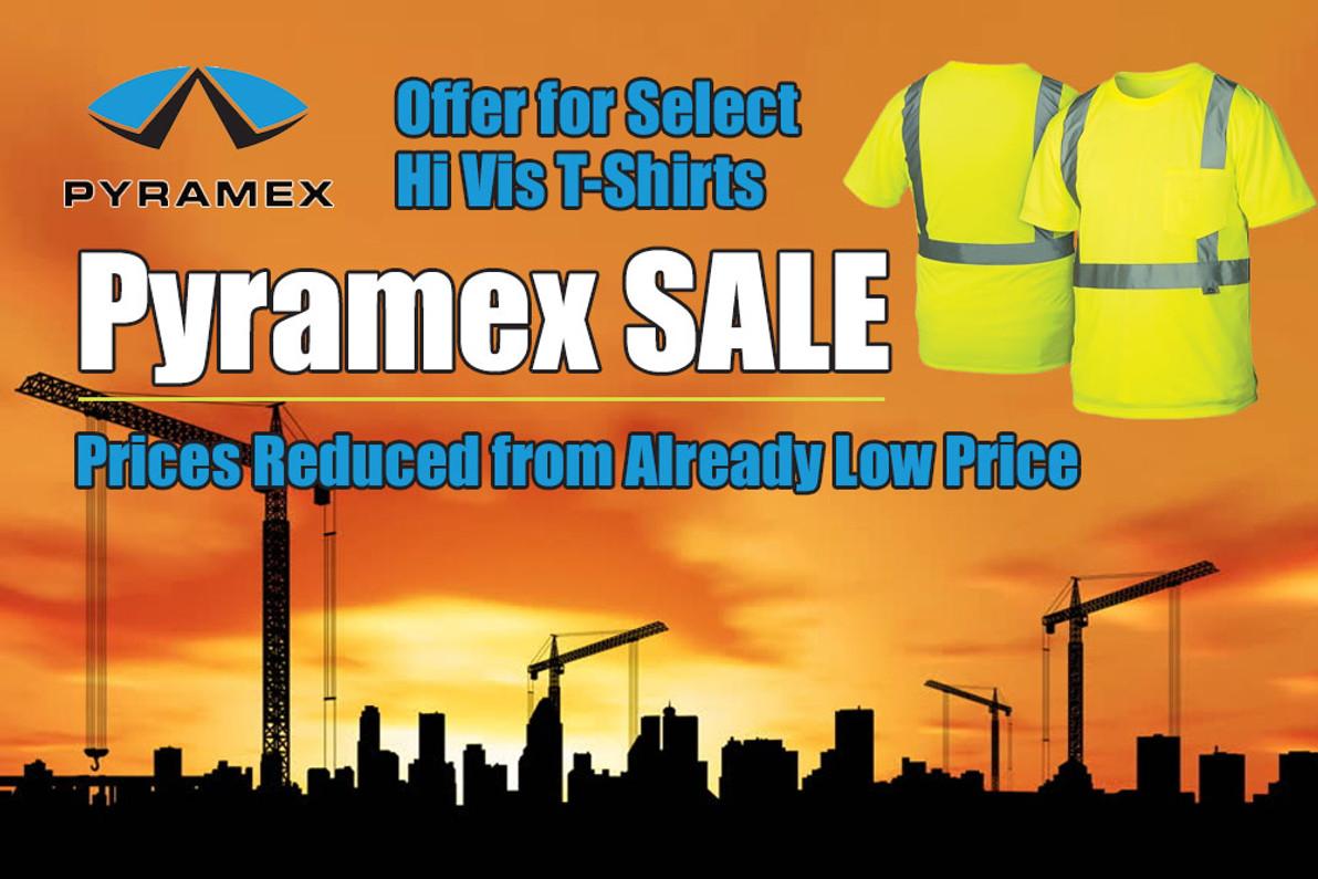Pyramex Hi VIs T-Shirt Sale
