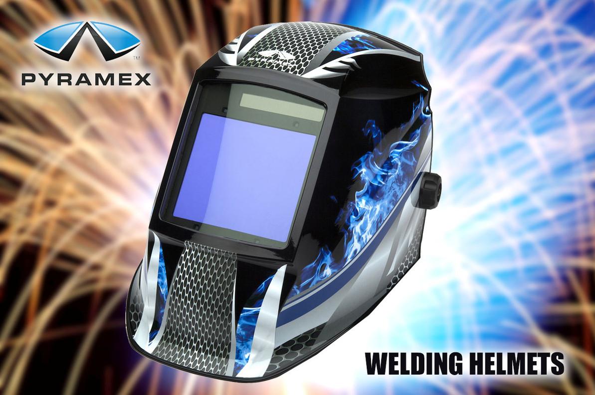 Pyramex Welding Helmets