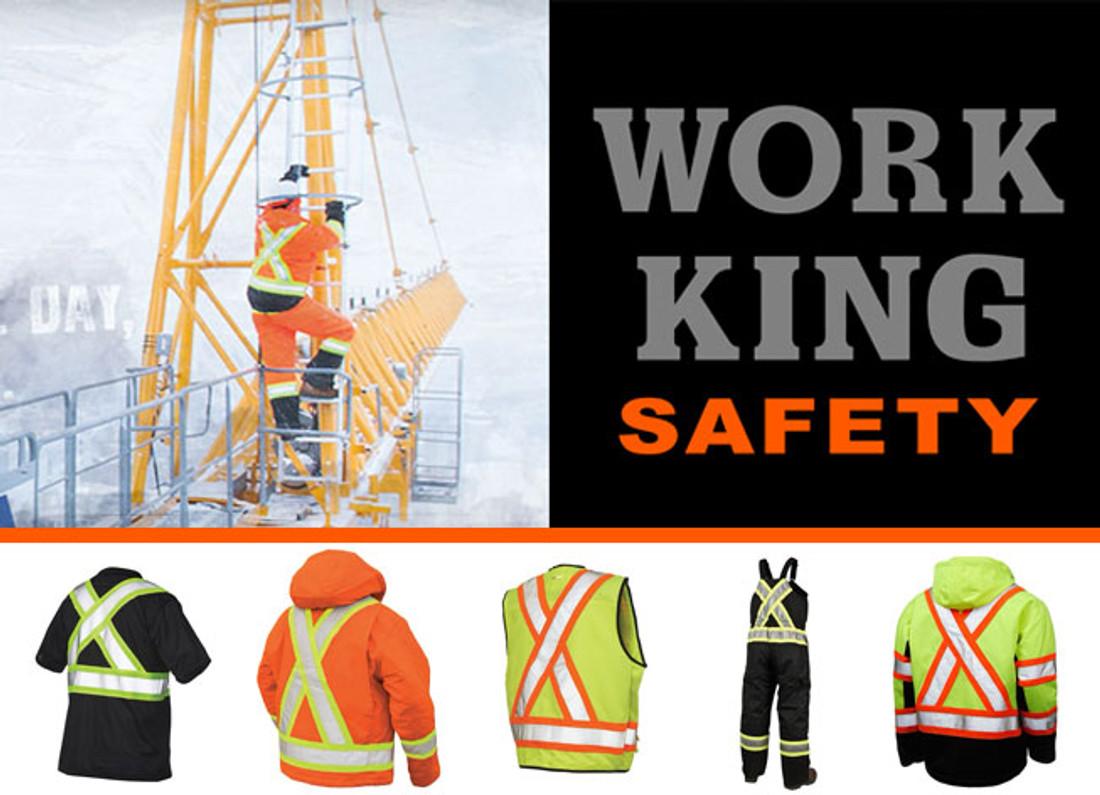 Work King Safety - X-Back Garments
