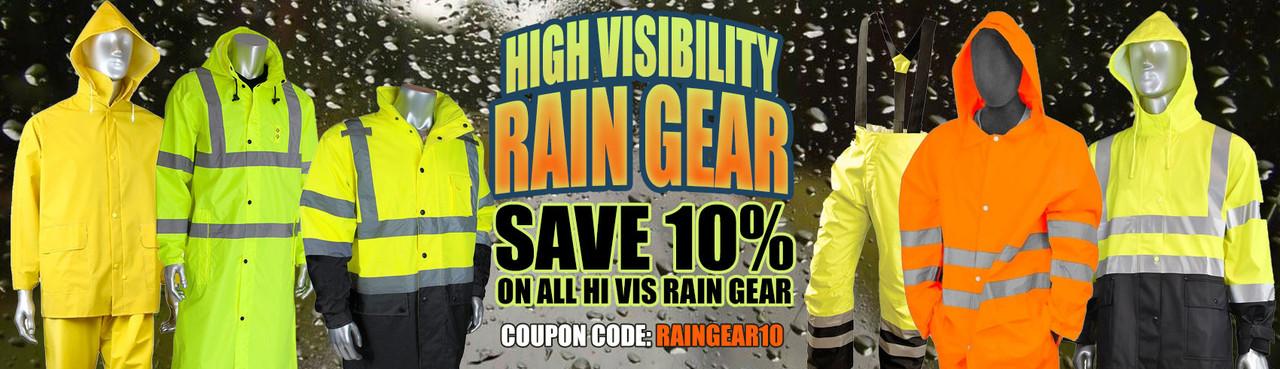 Hi Vis Rain Gear Special Offer