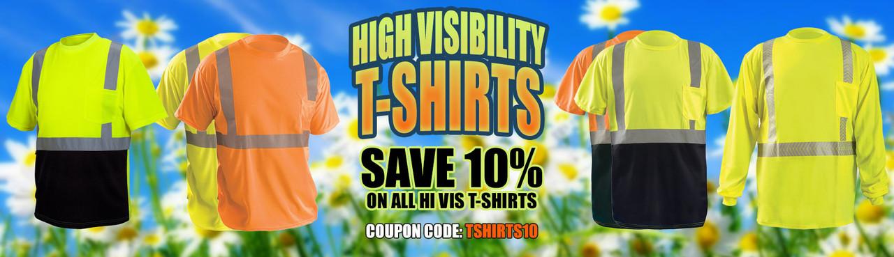 Hi Vis T-Shirts Coupon Code