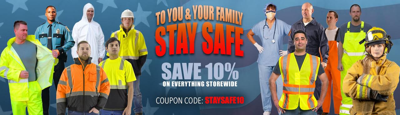 Stay Safe - Hi Vis, FR and PPE