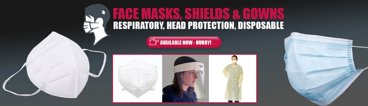 KN95 Face Masks - Shields - Iso Gowns