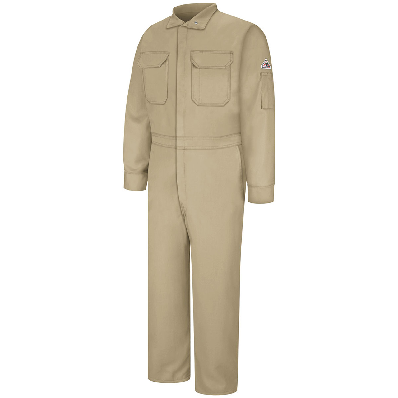 Bulwark Flame Resistant Nomex IIIA Coveralls  6 oz  CNB6 Light Material