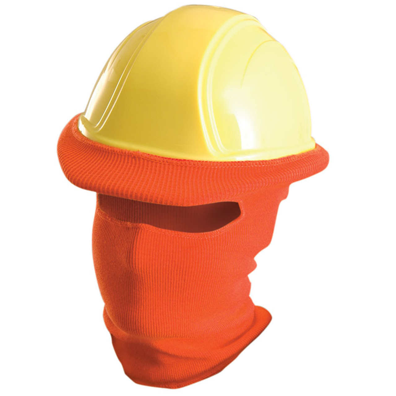 07185fa808f Occunomix Full Face Hard Hat Tube Liner LK810 Orange