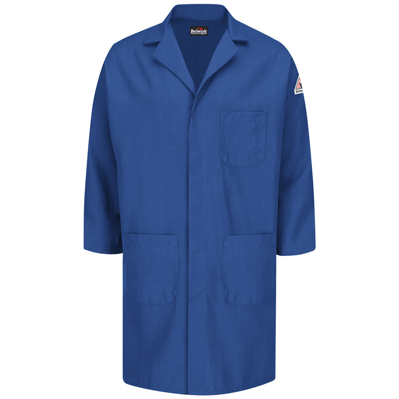 dcd1ce46bbc0 Bulwark FR 6 oz. Nomex Lab Coat KNL6RB Front